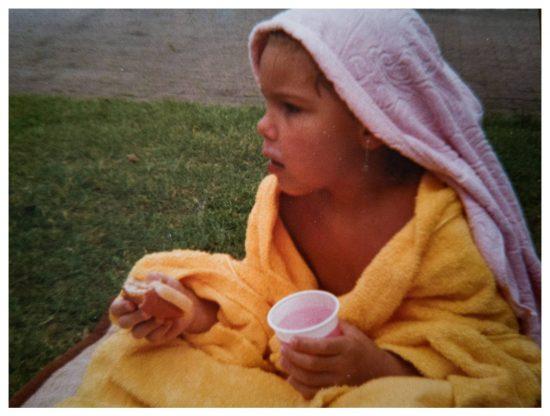 Als Kind war ich schon eine Wasserratte. Wir waren immer die gesamten Sommerferien im Freibad.